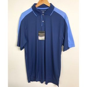Nicklaus blue golf polo medium New with tags